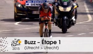 Buzz du jour / Buzz of the day - Un chrono record pour Dennis - Étape 1 (Utrecht > Utrecht) - Tour de France 2015