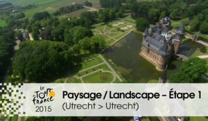 Paysage du jour / Landscape of the day - Étape 1 (Utrecht > Utrecht) - Tour de France 2015