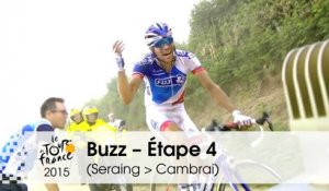 Buzz du jour / Buzz of the day - L'Enfer du Nord pour Pinot - Étape 4 (Seraing > Cambrai) - Tour de France 2015