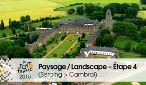 Paysage du jour / Landscape of the day - Étape 4 (Seraing > Cambrai) - Tour de France 2015