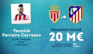 Officiel : Ferreira Carrasco rejoint l'Atlético Madrid !