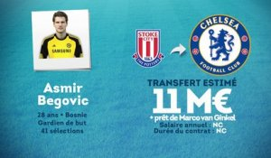 Officiel : Chelsea recrute Asmir Begovic !