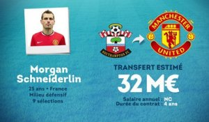 Officiel : Morgan Schneiderlin débarque à Manchester United !