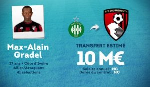 Officiel : Max-Alain Gradel file à Bournemouth !