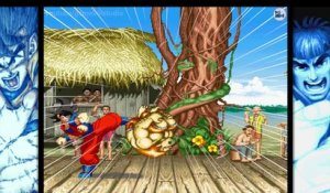Sangoku rencontre Street Fighter