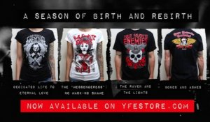 "Your Favorite Enemies - ""A Season of Birth and Rebirth"" on the YFE Store"