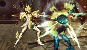 Saint Seiya Soldiers' Soul - Shiryu vs. Dohko