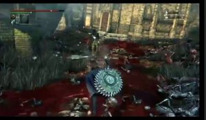 Bloodborne  The Old Hunters - PS4 - Gameplay from TGS 2015 - New Weapon