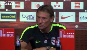 Football / Ligue 1 : Hervé Renard ironise sur la situation de Lille