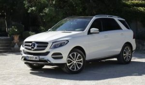 Essai Mercedes GLE 250D 4Matic Executive 2015