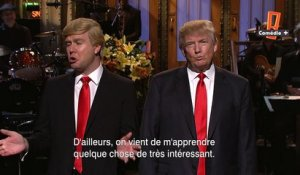 Donald Trump face à lui-même dans le Saturday Night Live !