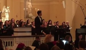 Football Player is also a great Opera Singer! Justin Tucker sings Ave Maria - Baltimore Ravens NFL