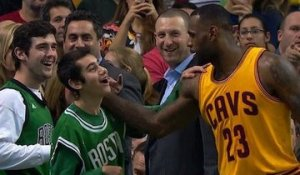 La belle attention de LeBron James envers un fan