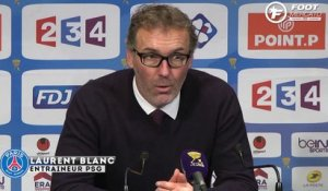 PSG : la réaction de Laurent Blanc