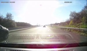 Road Rage en France avec un motard
