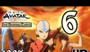 Avatar The Last Airbender: Burning Earth Walkthrough Part 6 | 100% (X360, Wii, PS2) HD