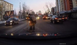 Compilation de DASHCAM russes très positive...