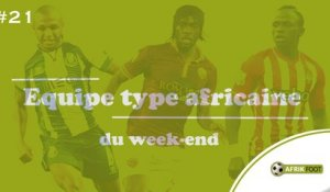 Le onze Afrik du week-end | #J21