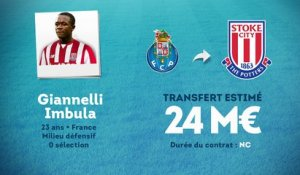 Officiel : Giannelli Imbula quitte Porto pour Stoke City !