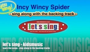 Kidzone - You Sing - Incy Wincy Spider