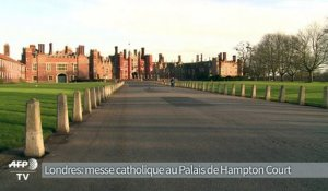 GB: 1ère messe catholique en 450 ans au Palais de Hampton Court