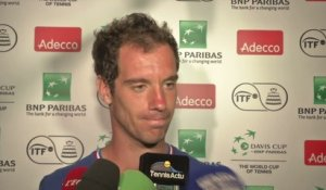 Tennis - Coupe Davis : Gasquet «On adore jouer ensemble»