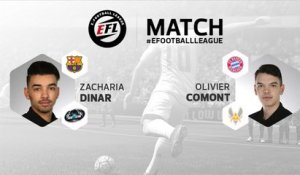 eSport - E-Football League : le résumé du match entre Zacharia Dinar et Olivier Comont