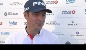 Turkish Airlines Open (T1) : La réaction de Julien Quesne