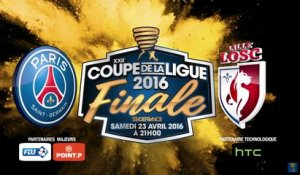 Conférence de Presse EN DIRECT - Paris Saint-Germain - LOSC Lille - Finale Coupe de la Ligue 2016