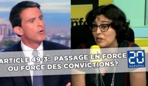 Article 49-3: Passage en force ou «force des convictions»?