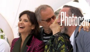Fabrice Luchini, Juliette Binoche (Ma Loute) - Photocall Officiel - Cannes 2016 CANAL+
