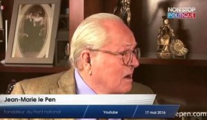 17-05-2016 JEAN MARIE LE PEN CHANTE SUR YOUTUBE