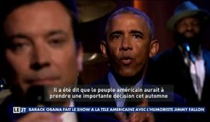 L'incroyable interview de Barack Obama chez Jimmy Fallon où le Président flingue Donald Trump - Regardez