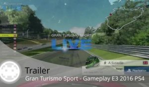 Trailer - Gran Turismo Sport (Gameplay E3 2016 PS4)
