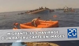 Le chavirage en direct d'un bateau de migrants