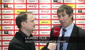 Volley - TQO (H) - Bleus : Tillie «On a fait un grand pas»