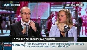 La chronique d'Anthony Morel : Wair invente un foulard connecté antipollution - 09/06