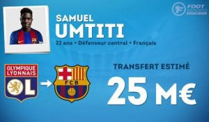 Officiel : Samuel Umtiti file au FC Barcelone !