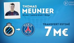 Officiel : le PSG recrute Thomas Meunier !