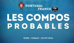 Portugal-France : les compos probables !