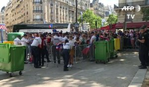 Euro-2016/finale : ouverture de la fan zone à Paris
