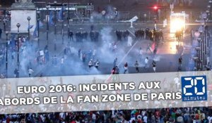Euro 2016: Une cinquantaine d'interpellations aux abords de la fan-zone