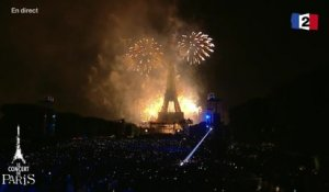 Final olympique ! - Feu d'artifice @ Tour Eiffel Paris - 2016