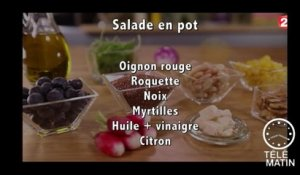 Gourmand - La salade en pot - 2016/07/21