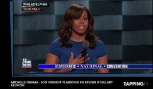 Michelle Obama : Son vibrant plaidoyer en faveur d'Hillary Clinton