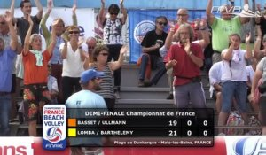 [Replay] Beach Volley Finale du Championnat de France - Dunkerque - Demi-Finale Homme 1