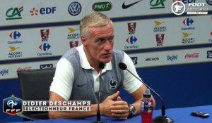 Deschamps justifie le choix Dembele