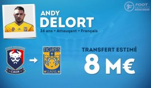 Officiel : Andy Delort file au Mexique !