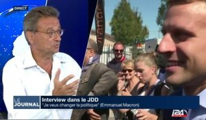 Analyse de l'interview de Macron au JDD