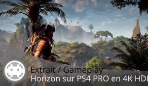 Extrait / Gameplay - Horizon: Zero Dawn (Gameplay PS4 PRO en 4K HDR)